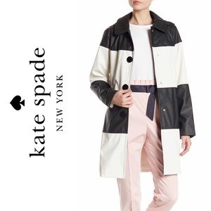 Colorblock Trench/Raincoat
